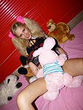 Playful Blond Teen Getting Her Fill Of Man Meat. - Picture 2
