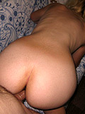 Pretty blonde chick with unshaved pussy gets fucked well
